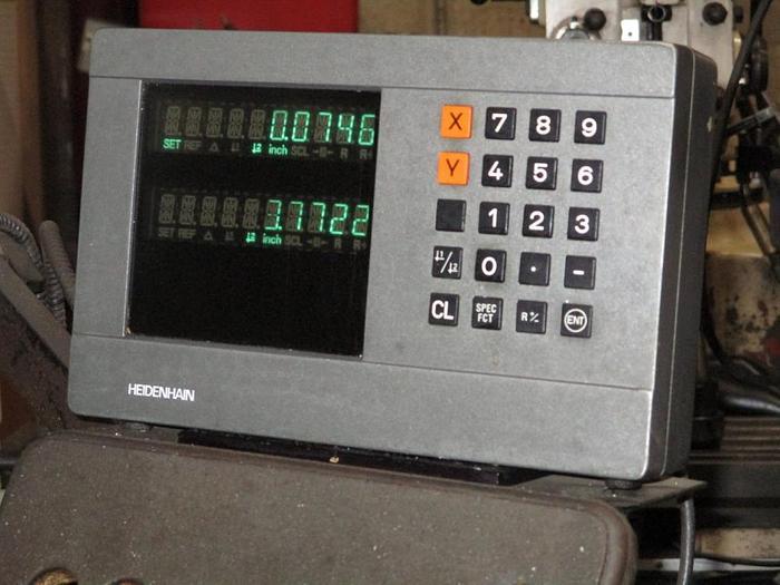 9 X 42, FIRST, LC 1 12 VS, VERTICAL MILLING MACHINE