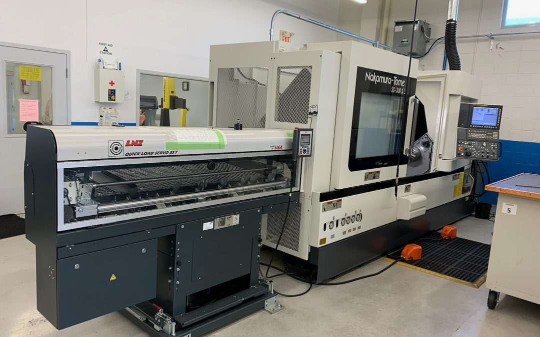 Nakamura Tome SC 300 ll LMYS CNC Turning Centre 2018